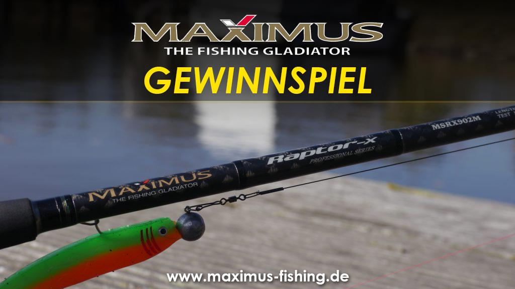 Maximus Fishing Gewinnspiel